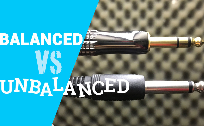 balanced vs unbalanced cables - TS and TRS connectors