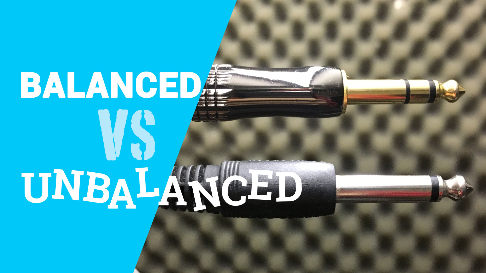 Balanced VS Unbalanced Cable, What's the difference?
