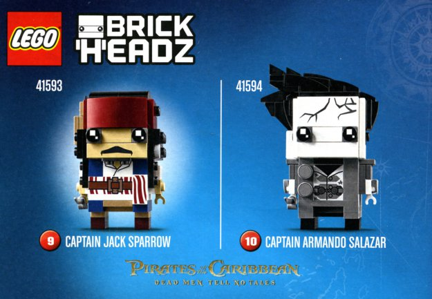 LEGO BrickHeadz Pirates of the Caribbean