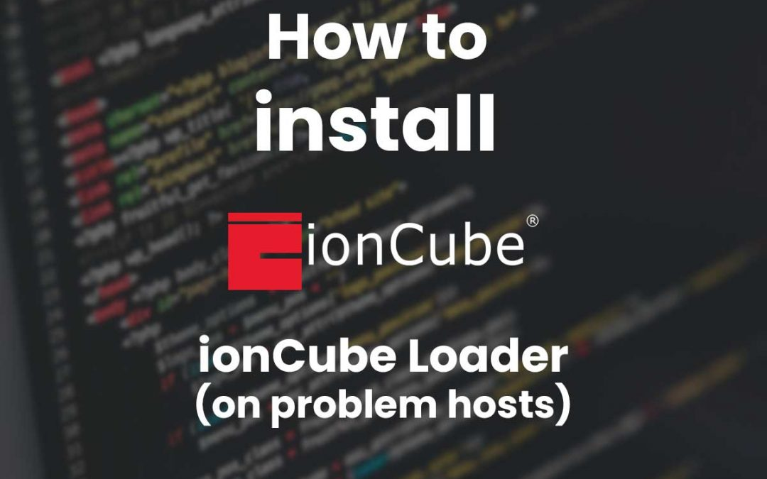 IonCube Loader: The Guide (with help for problem hosts)