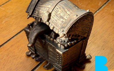 Creating & 3D Printing The Luggage from Discworld